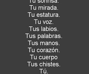 love, tu, and frases en español image