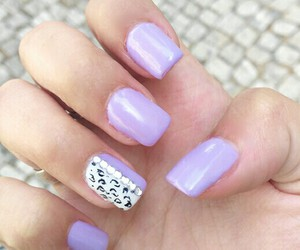 art, girl, and gel nails image