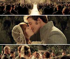 annie, finnick, and couple image