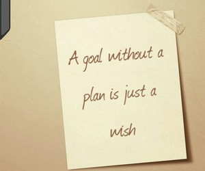 goals, plans, and quotes image