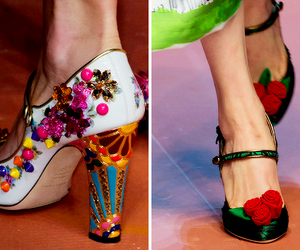 haute couture, shoes, and heels image