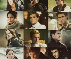Jennifer Lawrence, the hunger games, and gale hawthorne image