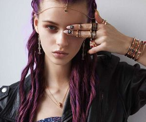 beauty, cool, and necklace image