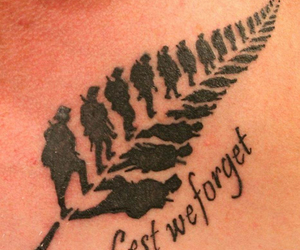 tattoo, soldier, and war image