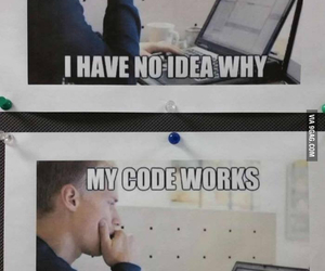 code, computer, and laughing out loud image