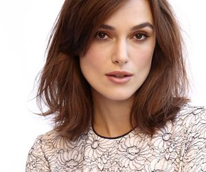 hair, haircut, and keira knightley image