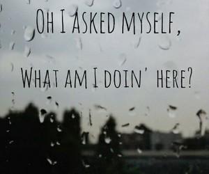 here, Lyrics, and quote image