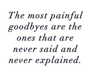 sad, explained, and goodbye image