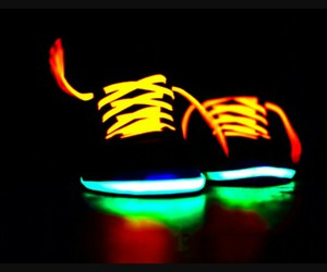 shoes and neon image