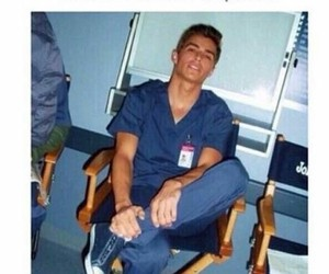 dave franco, hospital, and boy image