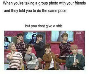 funny and bts image
