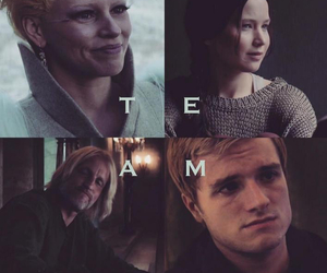 team, the hunger games, and katniss everdeen image