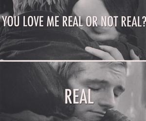 katniss, real, and peeta image