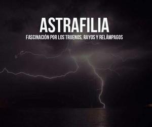 astrafilia, relampagos, and truenos image