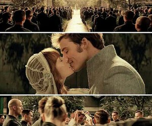 annie, the hunger games, and wedding image