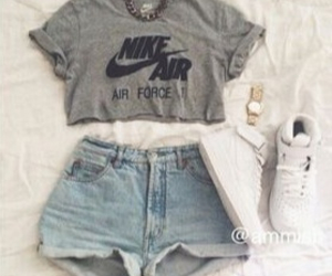 air, necklace, and nike image