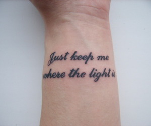 john mayer, tattoo, and where the light is image