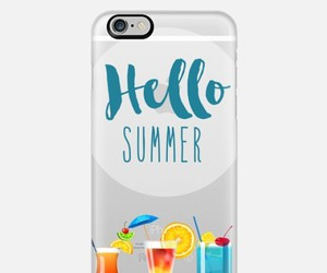 beach, summer, and typography image