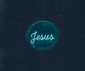 jesus, god, and faith image