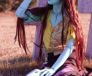 cosplay, sally, and Halloween image