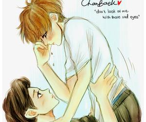 chanbaek, chanyeol, and baekhyun image