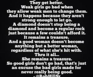 diamond, good girls, and quotes image