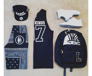 clothes, hat, and tyga image