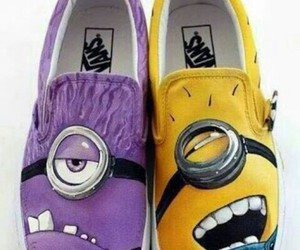minions vans funny image
