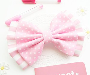 pink, sweet, and bow image
