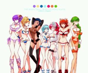 genderbender, genderbend, and kuroko no basket image