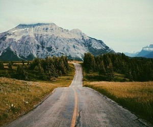 nature, mountains, and adventure image