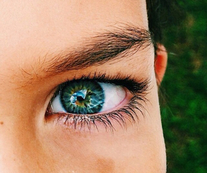 blue, eyes, and tropical image