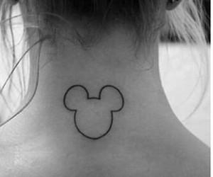 mickey, tattoo, and disney image