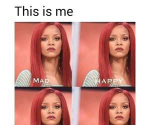 me, rihanna, and funny image