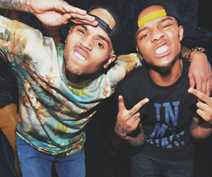 chris brown, bow wow, and boy image