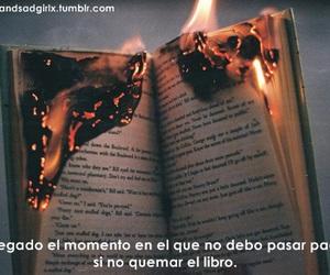 libros, tumblr, and frases en español image