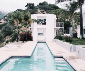 pool, house, and home image