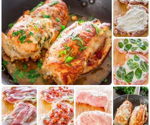 Chicken, cooking, and food image