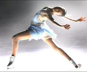 figure skating and ice skating image