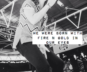 black and white, quotes, and Harry Styles image