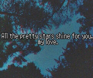 stars, love, and grunge image
