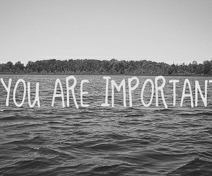 important, self love, and you image