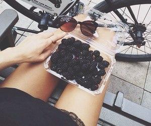 food, black, and berries image