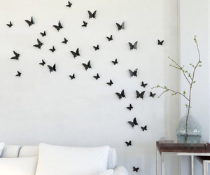 bedroom and butterfly image
