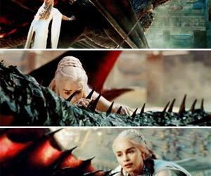 dragon, game of thrones, and daenerys targaryen image