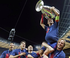 Barca, champions league, and fc barcelona image