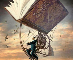 book, fly, and Dream image