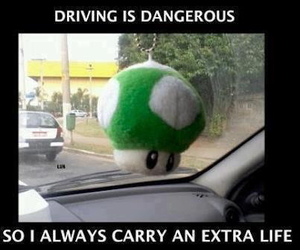funny, mario, and life image