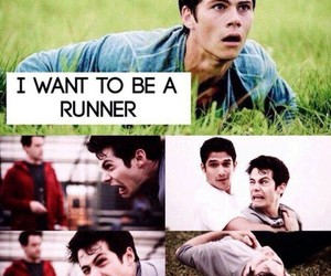 teen wolf, the maze runner, and stiles stilinski image