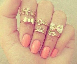 accessories, beautiful, and manicure image